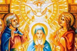 María mujer de Pentecostés.
